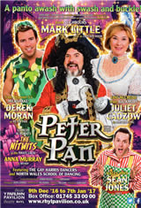 Peter Pan,Pavilion Theatre Rhyl - New Box Office Record!