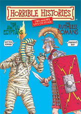 Horrible Histories: The Awful Egyptians and The Ruthless Romans