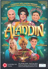 Aladdin, Cambridge Arts Theatre