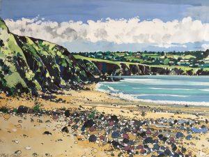Penbryn Beach (Gouach)