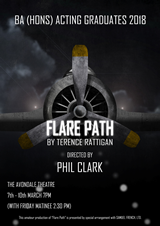 Flare Path, Italia Conti Academy, London
